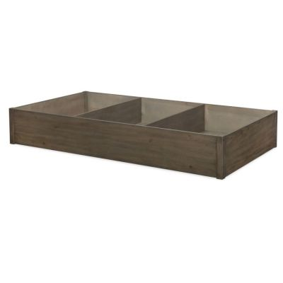 Big Sky Trundle Storage Drawer In Weathered Oak - 6810-9500