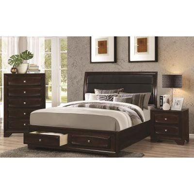 Jaxson 3 Piece Bedroom Set in Cappuccino