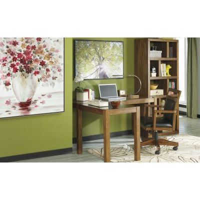 Lobink 3 piece 60'' Home Office Set in Brown