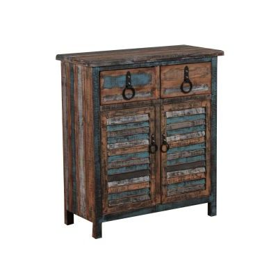 Calypso Colorful Console (2 Drawers/2 Doors) - 114-660