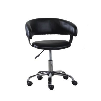 Black Gas Lift Desk Chair - 14B2010B