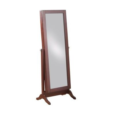 Cherry Sliding Jewelry Armoire - 14J2001CH