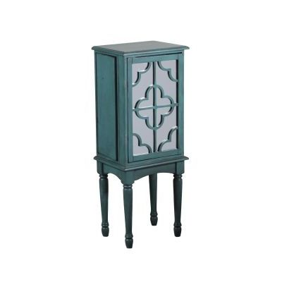 Mazie Jewelry Armoire with Teal Finish - 14J8119T