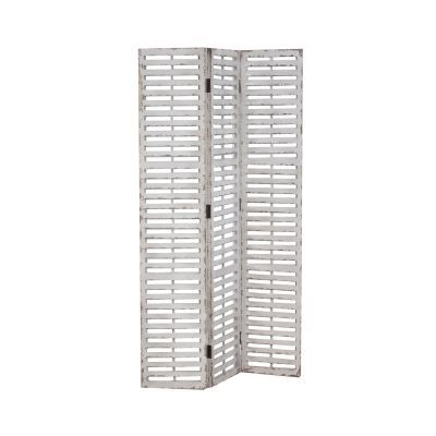 Hogan Slatted Wood Screen - 15A2052