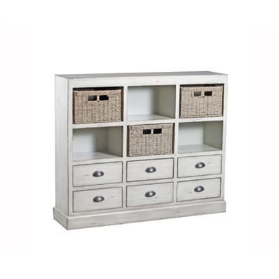 Currituck Cream Console - 15A2064