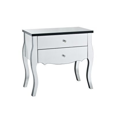 Mirrored 2 Drawer Console - 233-515