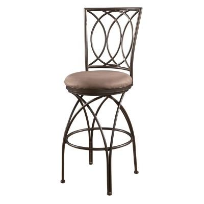 Big and Tall Metal Crossed Legs Bar Stool - 586-851