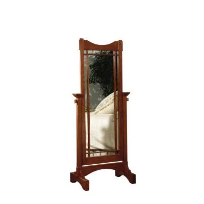 Mission Oak' Cheval Floor Mirror - 993-230