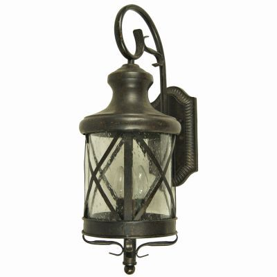 Lorenza Large 4 Lights Exterior Lighting in Bronze Finish - 5364ORB-L