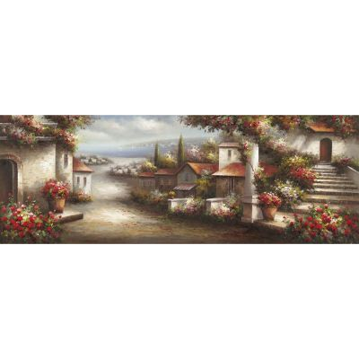 European Village 1 Original Hand Painted Wall Art - ARTAA1288