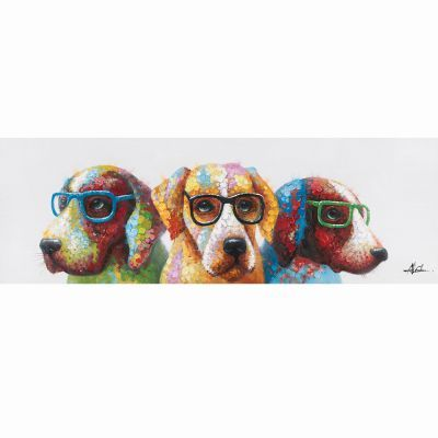 Cool Dogs Original Hand Painted Wall Art - ARTAE1920D