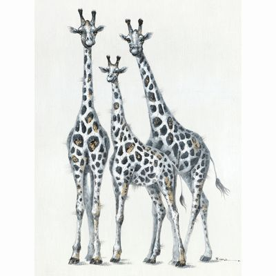 Family with Spots Original Hand Painted Wall Art - ARTAFF0123