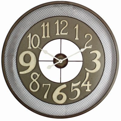 Circular Iron Wall Clock - CLKB2A159