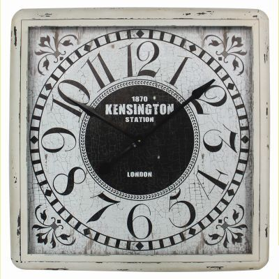Square Kensington Wall Clock - CLKBA033
