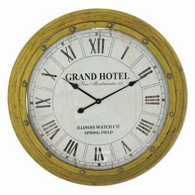 Circular Wall Clock with Glass - CLKC1155