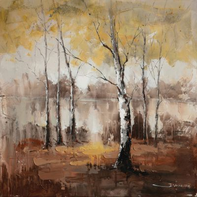Autumn Mist Original Hand Painted Wall Art - DCA1566A
