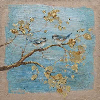 Morning Chat Original Hand Painted Wall Art - FCS12468R-1