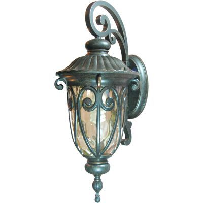 Viviana 1 Light Exterior Lighting Wall Mount in Bronze - FL519MDORB
