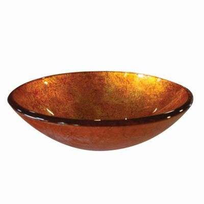 Sunrise Round Glass Basin - WYATT