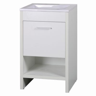 20 Inch Single Vanity in White Finish - YVEC-5101WH