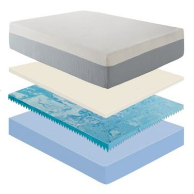 Pure Form 121 12'' Memory King Foam Mattress - MEFR05711EK