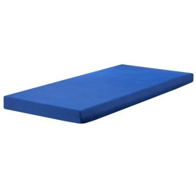 Pure Form 50B 5'' Blueberry Children's Double Foam Mattress - MEFR01211BLUEDB