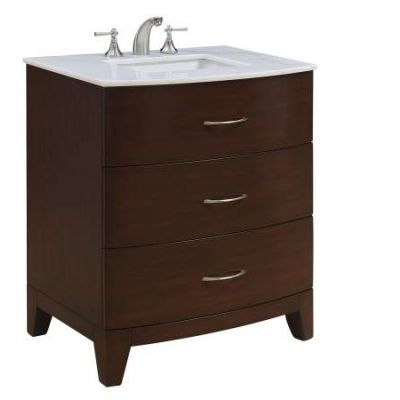 30'' Single Bathroom Vanity set in Brown - VF-1029