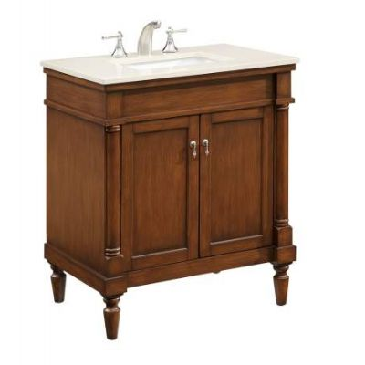 30'' Single Bathroom Vanity set in Brown - VF-1030