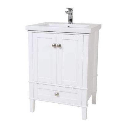 Danville 34'' Bath Vanity in White - VF-2001