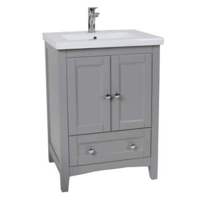 Danville 34'' Bath Vanity in Medium Grey finish - VF-2002