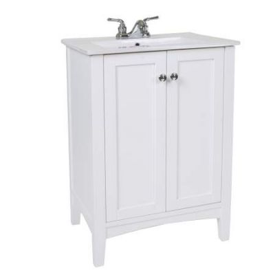 Danville 34'' Bath Vanity in White - VF-2003