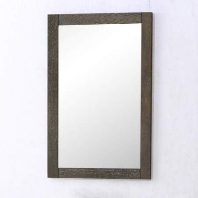 Danville 32'' Vanity Mirror in Weathered Oak - VM-2003