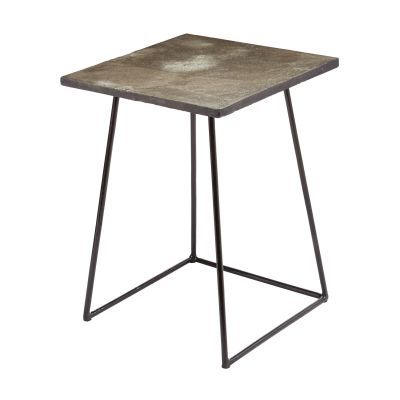 Linear Concrete Accent Table - 159-016