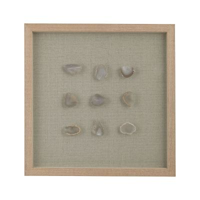 Natural Agate Shadow Box - 3168-020