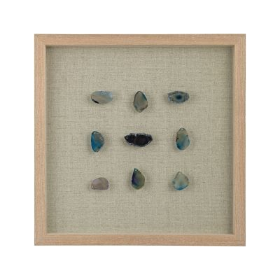 Blue Agate Shadow Box - 3168-021