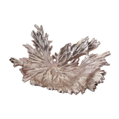 Rose Gold Star Leaf Bowl - 468-049