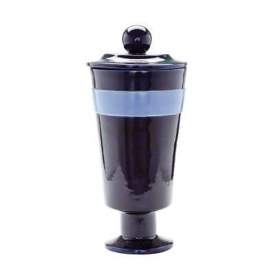 Navy And Denim Polar Vase - Large - 857112