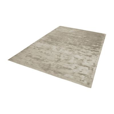 Auram Handwoven Viscose Rug In Stone - 9ft x 12ft - 8905-143