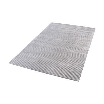 Logan Handwoven Viscose Rug In Silver - 9ft x 12ft - 8905-163