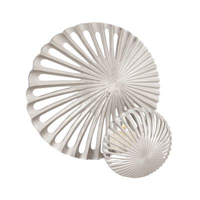 Pompano Beach Candle Sconce In Raw Textured Nickel - 8987-034