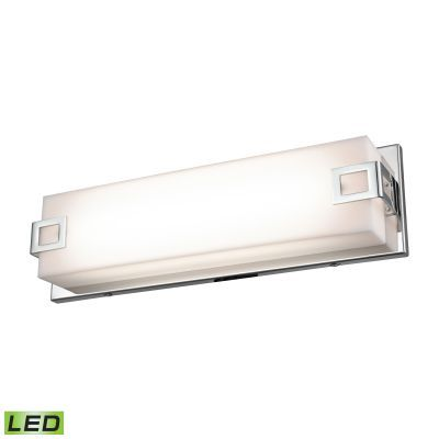 Prospect 15-Inch Linear Vanity - Chrome With Acrylic Diffuse - WSL2125-AC-15