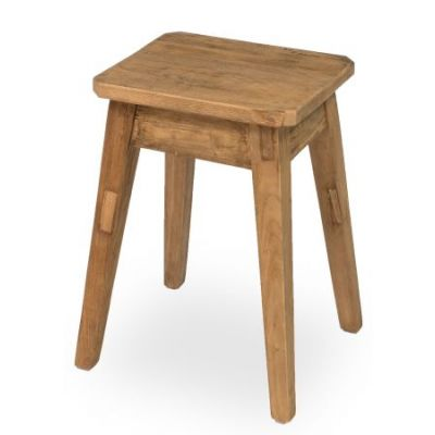 Clipped Corners Stool  Low - 30728