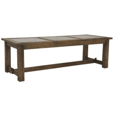 Bluestone Inlay Stoneberry Dining Table - 30787