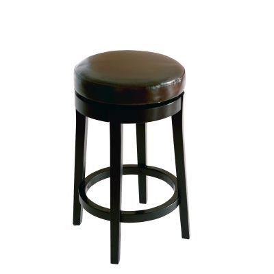 Mbs-450 30'' Backless Barstool in Brown Bonded Leather - LC450BABC30
