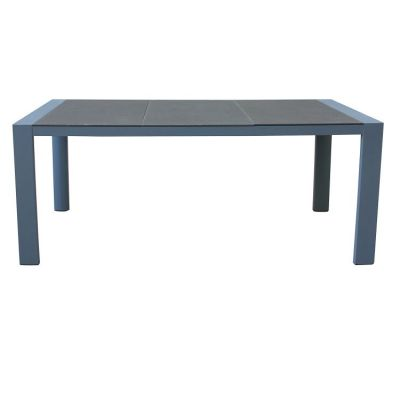 Westport Patio Dining Table in Gray Powder Coated Finish - LCWEDIGR