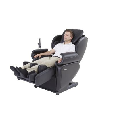 Ultra High Performance Deep Tissue 4D Massage Chair in Black - JMR0003-08NA