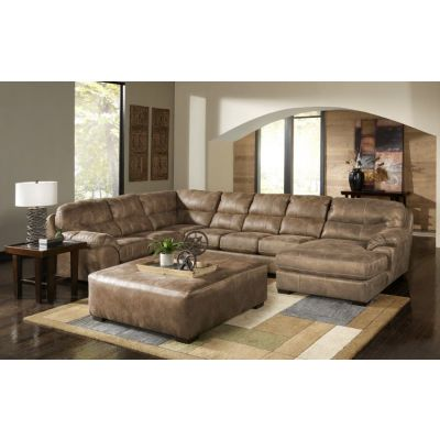 Grant 4-Piece Sectional Sofa With Cocktail Ottoman in Silt - 001339_Kit