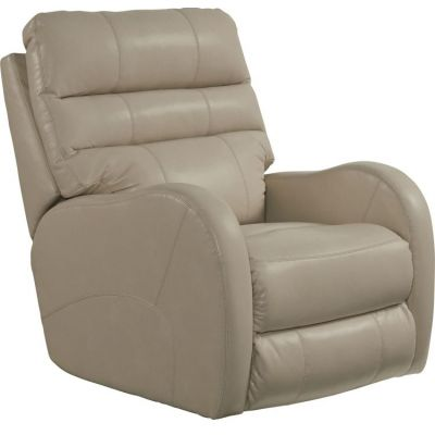 Searcy Rocker Recliner in Parchment - 47472126301