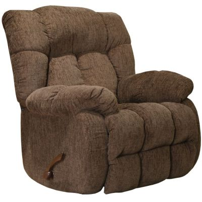 Brody Rocker Recliner in Chocolate - 47742150619