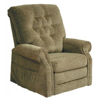 Patriot Power Lift Full Lay-Out Recliner in Celery - 4824180025